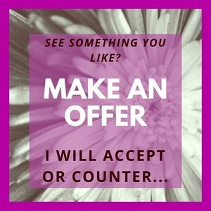 I 😍 Love Offers. See something you like?